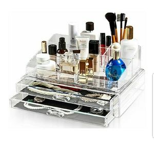 Brand New Felicite Acrylic Cosmetic Storage